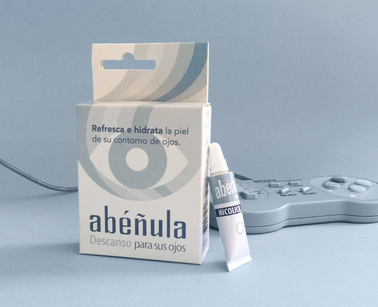 If you have swollen eyes use Relax Abéñula - ABÉÑULA NICOLICH
