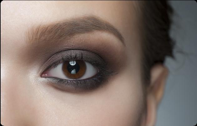 Brown smoke eyes step by step - ABÉÑULA NICOLICH